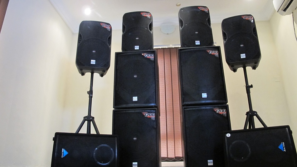 Our Speakers and Lights