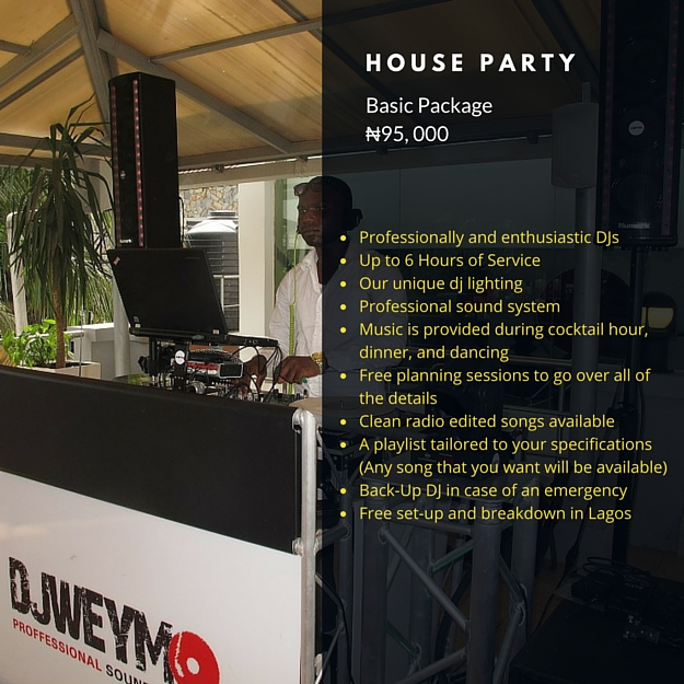 House Party Package