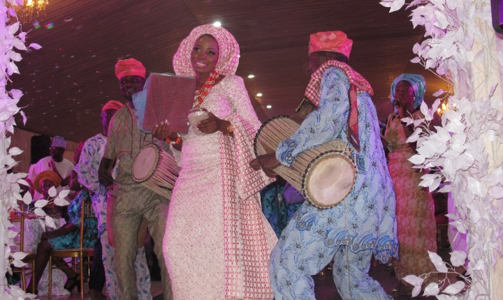 djWeymo Rocked @ Hasfeet and Yomi's Traditional Wedding January 2016
