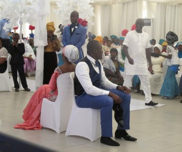 Shehu and Fatima's Wedding