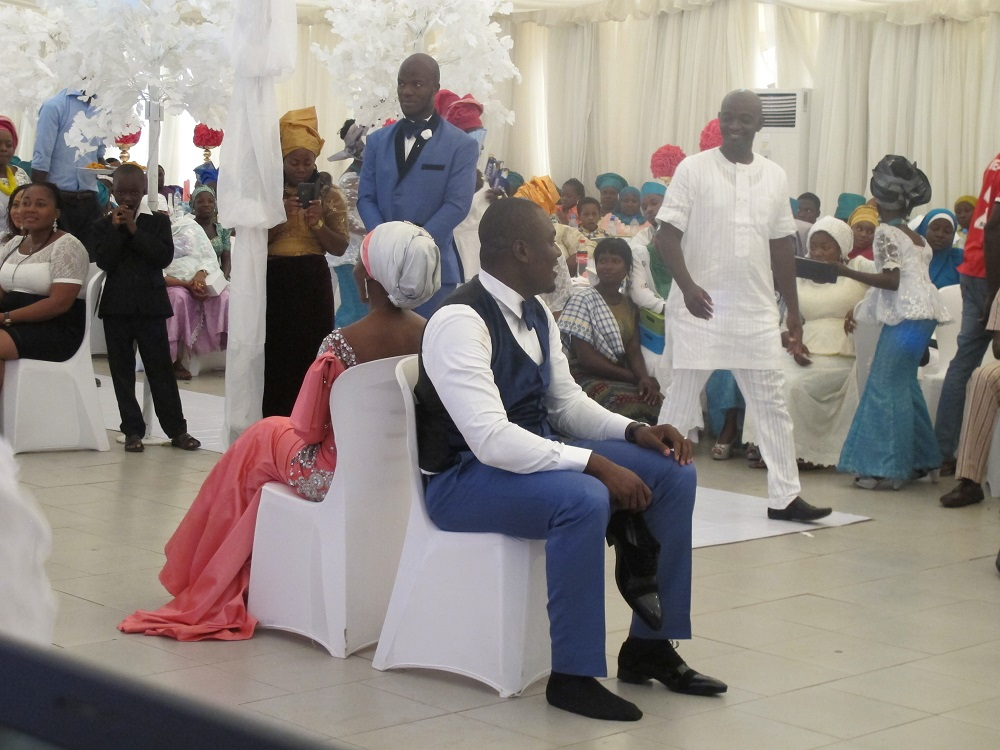 djWeymo rocked @ Fatima and Shehu's Wedding Reception August 2015