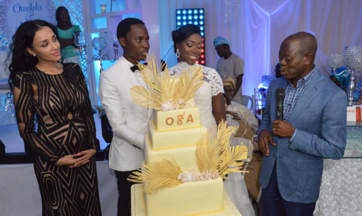 djWeymo rocked @ Lola and Bayo Omoboriowo's Wedding Pictures and Videos